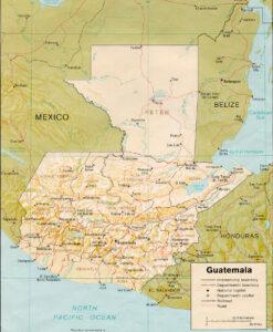 Guatemala - antigua and huehuetenango