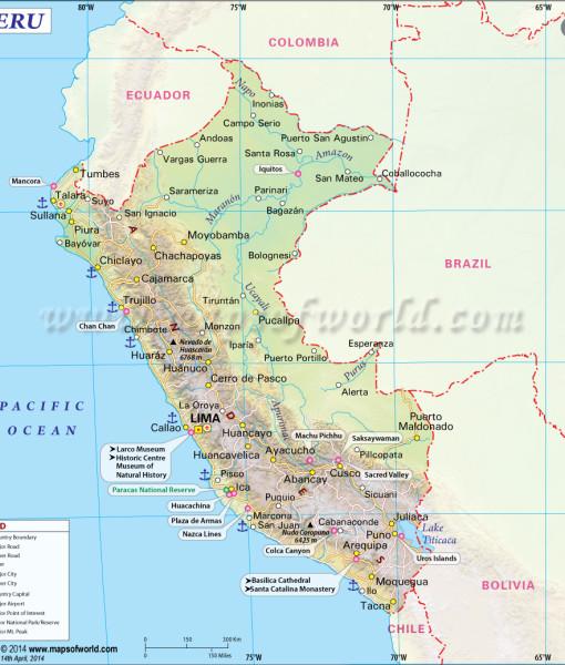 map-of-peru
